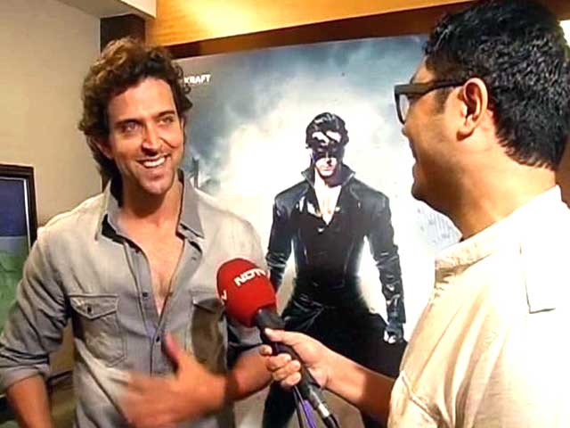 Video : Krrish 3 trailer crosses 16 mn hits on YouTube, Hrithik says 'grateful'