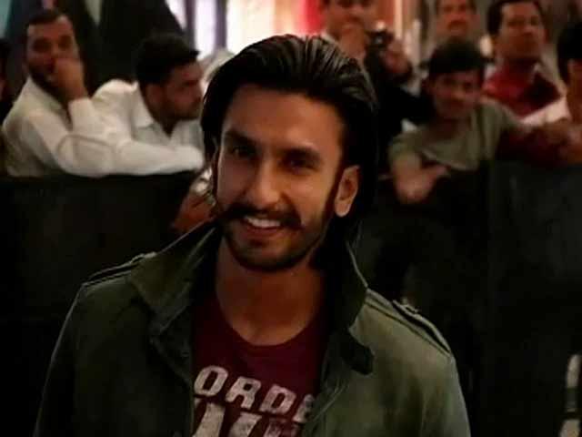 Video : No more moustache for Ranveer Singh