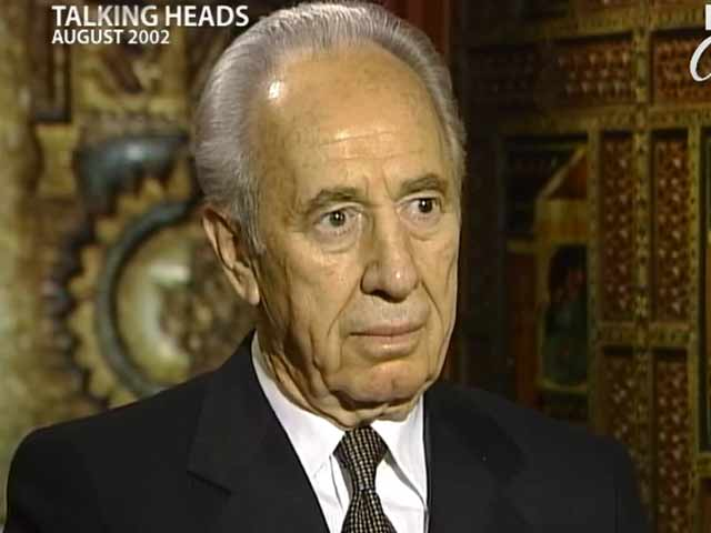 Video : Talking Heads: Shimon Peres (Aired: August 2002)