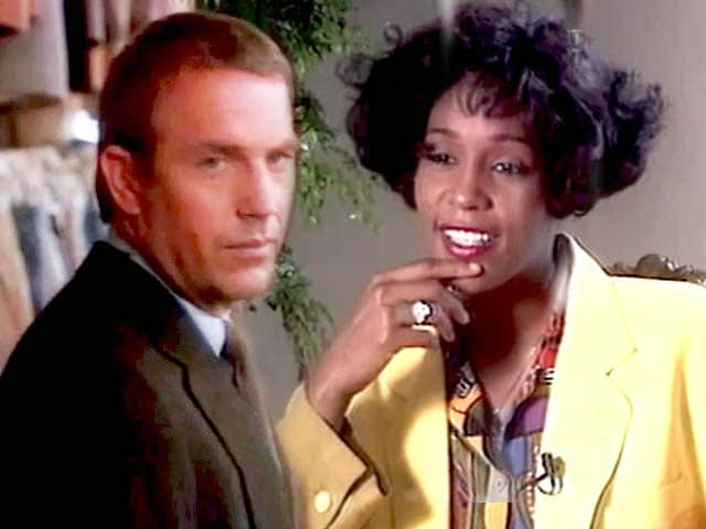 Video : The World This Week: Who's guarding Whitney? (Aired: December 1992)