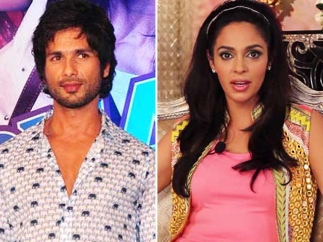 Video : Mallika does a Marilyn for Narendra Modi; Hanging out with Poster boy Shahid