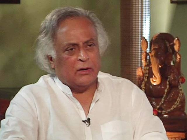 Video : Narendra Modi will cause more Muzaffarnagars: Union Minister Jairam Ramesh to NDTV