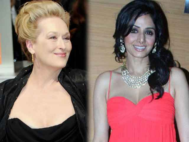 Sridevi to team up with Meryl Streep?