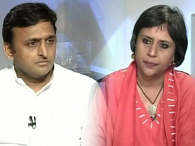 Video : Got no specific warning from Home Minister on Muzaffarnagar: Akhilesh Yadav