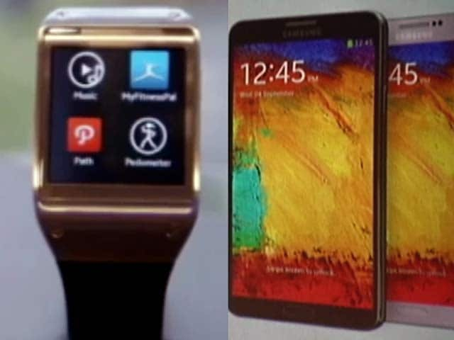 Video : Samsung Galaxy Note 3 and Galaxy Gear smart watch come to India