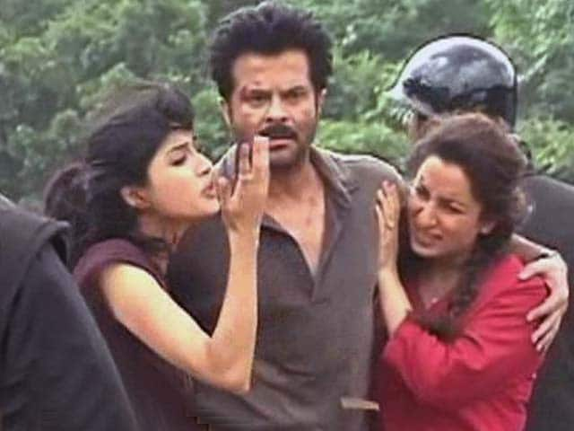 Video : On the sets of Anil Kapoor's <i>24</i>