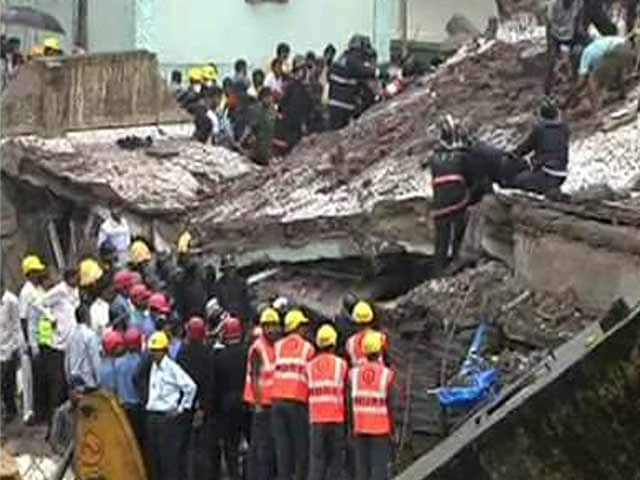 Video : Mumbai building collapse: 61 dead, rescue operations called off