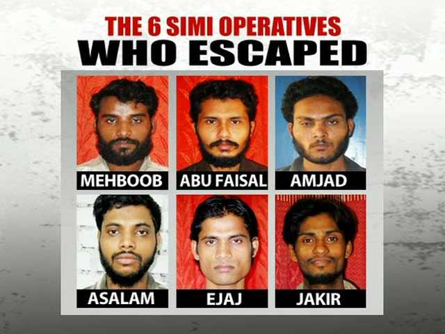 Video : Six alleged SIMI operatives escape from Madhya Pradesh jail, one prisoner caught