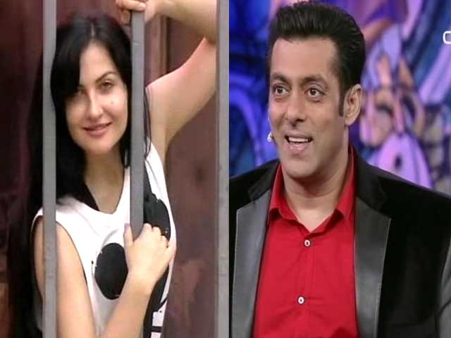 Video : Salman's blue eyed girl