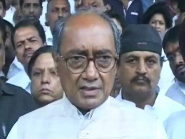 Video : तेलंगाना पर सभी मंत्रियों से राय ली गई थी : दिग्विजय