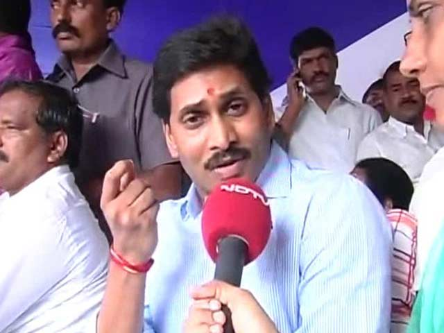 Video : State divided because someone wants son as PM: Jagan