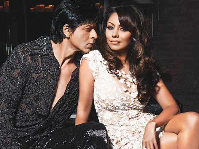 SRK's birthday message for Gauri