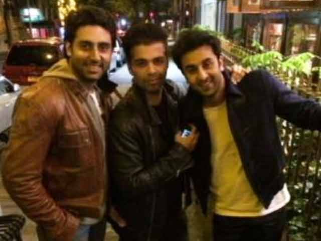 Abhishek, Ranbir, KJo: Boys just wanna have fun