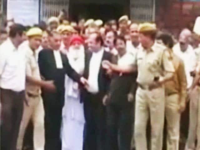 Video : आसाराम की न्यायिक हिरासत 25 तक बढ़ी