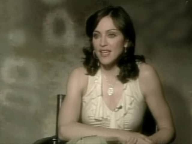 Video : Madonna, the TV star (Aired: April 2003)