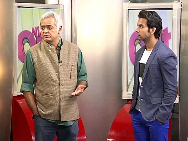 Video : Raj Kumar Yadav, Hansal Mehta talk about Shahid