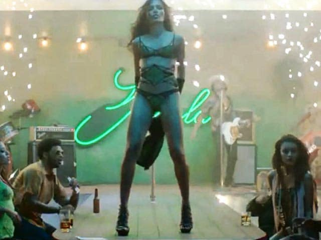 Video : Freida Pinto stars as a stripper in music video