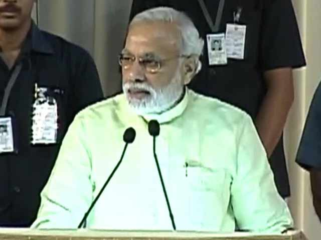 Video : In Chennai, Narendra Modi pitches for 'cyclone of change'