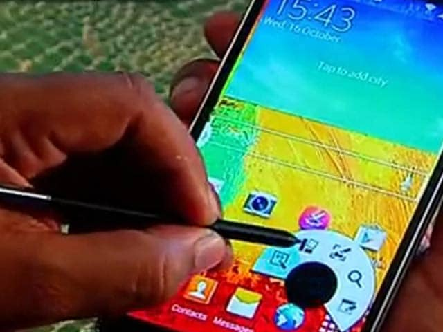Video : Smartphone Review: Samsung Galaxy Note 3