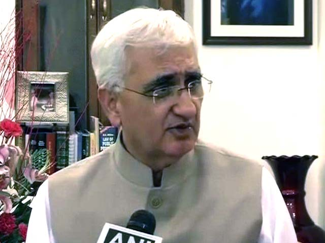 Video : Coal scam: 'PM won't go through every page of file,' says Khurshid