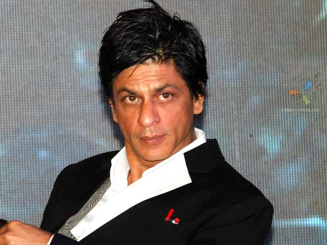 SRK unwell, watching his own movies on TV