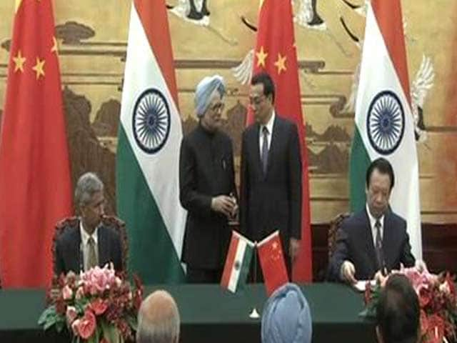 Video : India, China sign border agreement but visa pact off over stapled visa row