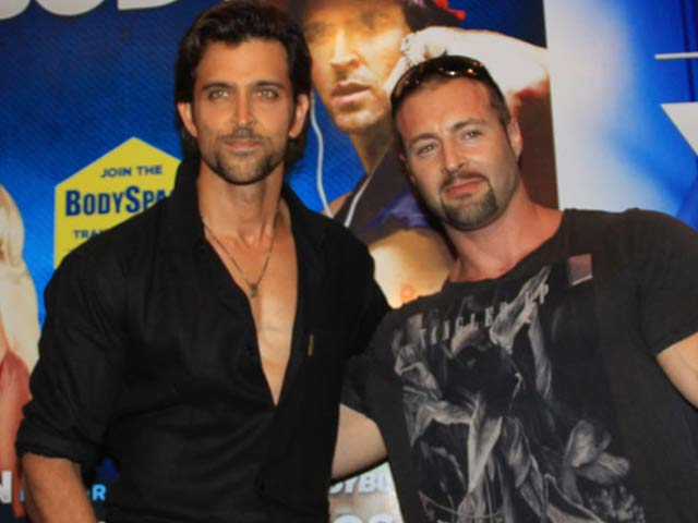 Video : Trainer trouble for Hrithik Roshan