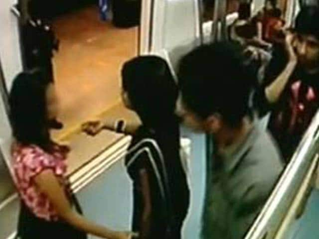 Video : CCTV suggests sexual harassment of girl on Bangalore metro