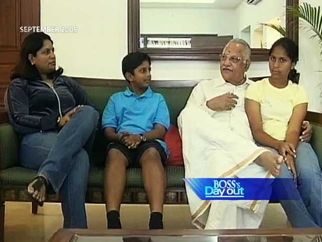 Video : Boss' Day Out with Dr Prathap Reddy (Aired: September 2005)