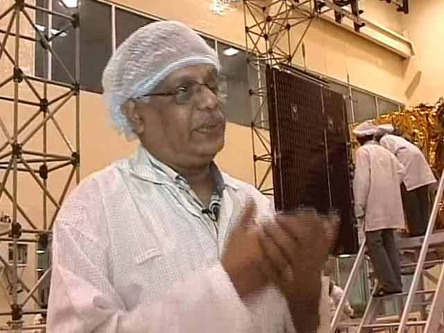 Video : Slept most nights in satellite centre: Mangalyaan project director