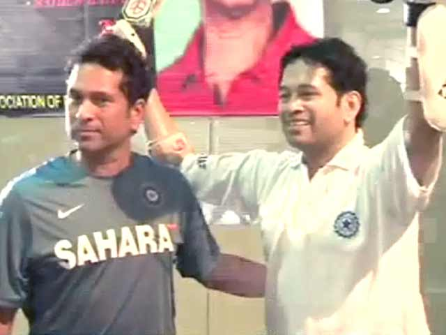 Video : Sachin upset with frenzied celebrations at Eden