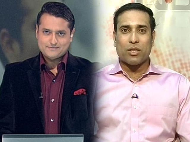Video : Sachin is man with the golden arm: Laxman