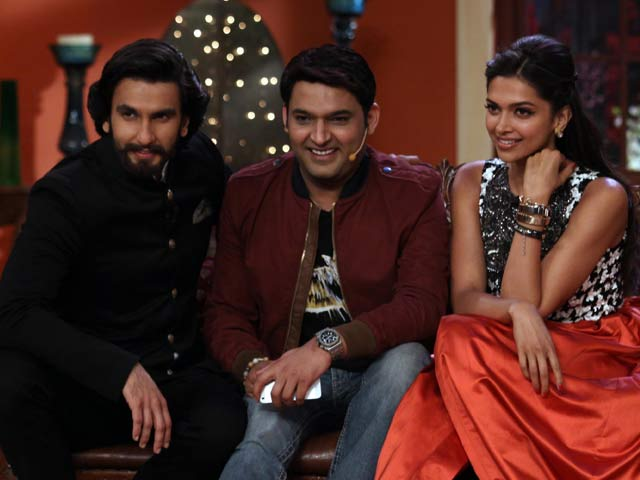 Comedy Leela with Ranveer, Deepika