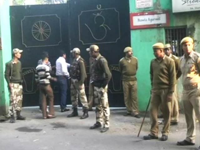 Video : In Kolkata, two killed in shooting at empty nursery school