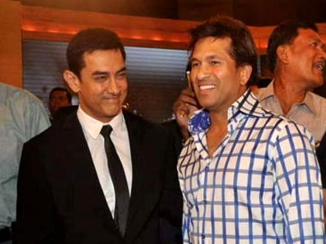 Video : Sachin provides us with hope and inspiration: Aamir Khan