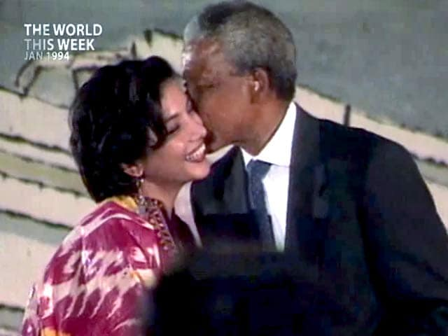 Video : The World This Week: The kiss that nearly did Shabana in (Aired: January 1994)