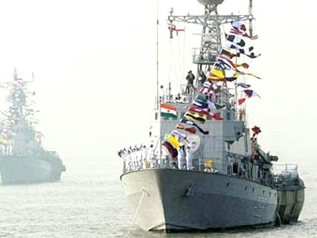 Video : Indian warships to escort aircraft carrier INS Vikramaditya from Russia