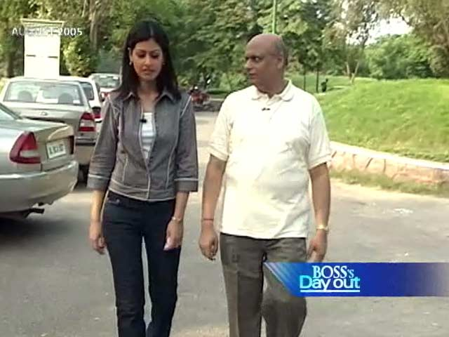 Video : Boss' Day Out: A K Sinha (Aired: August 2005)