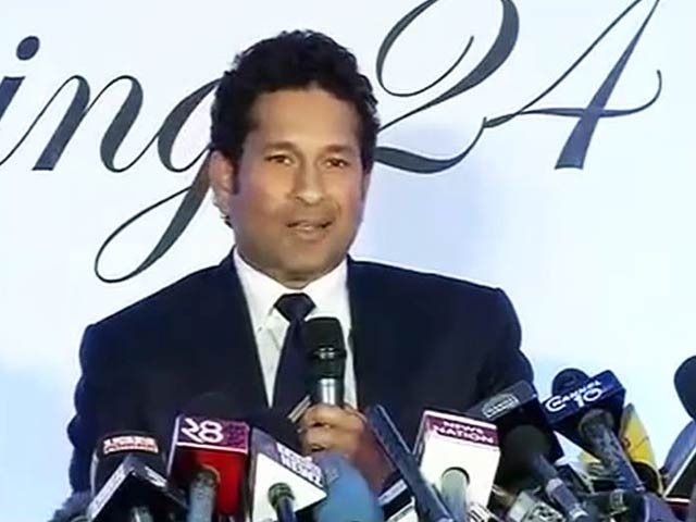 Video : In my heart, I will always be playing and praying for India, says Sachin