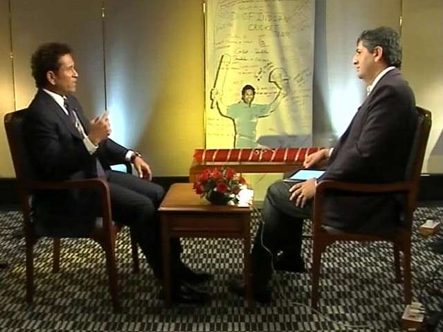 Video : Sachin Tendulkar to NDTV on life after retirement