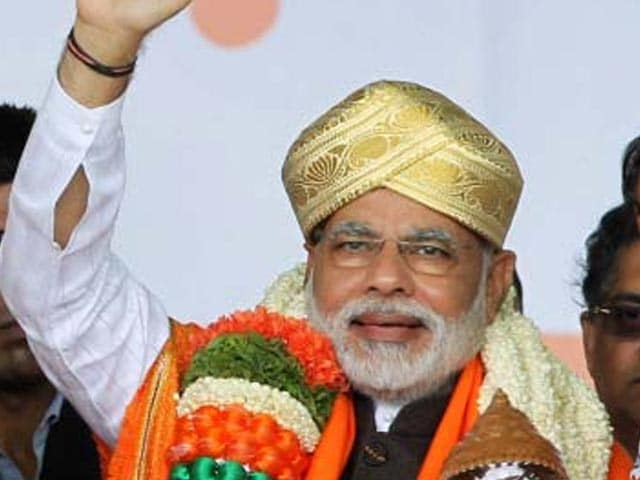 Video : In Narendra Modi's big Bangalore rally, BJP hopes for a resurrection
