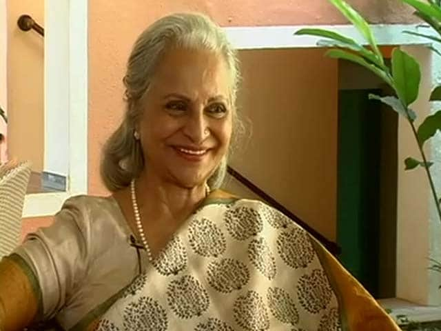 I told Dev Anand to cut my scenes, but not my dance in Guide: Waheeda Rehman
