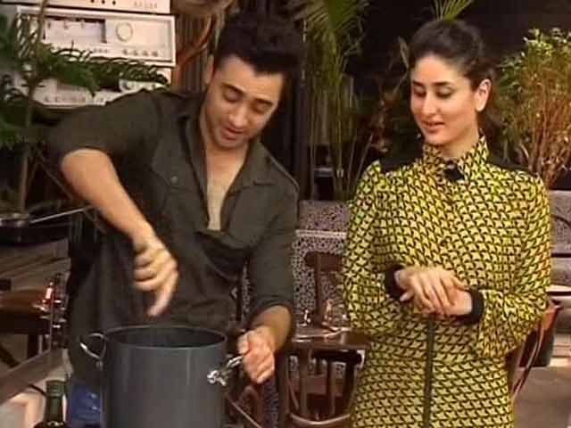 Video : Celebrity cook-off: In the kitchen with Kareena and Imran