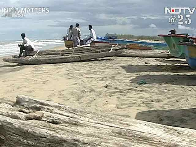 Video : The tsunami: 100 days after (Aired: April 2005)