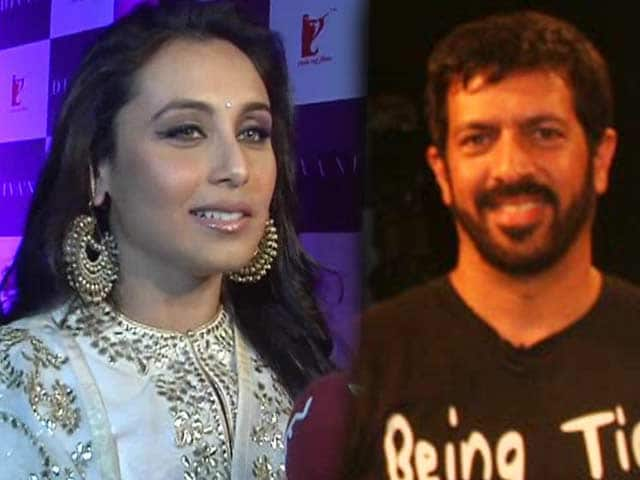 Video : Am dressed up for Yash uncle: Rani, Kabir Khan to co-produce film with Salman