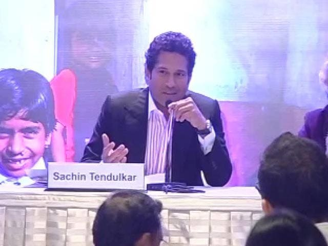 Video : Didn't wash hands as a kid, my mother made me do it: Sachin
