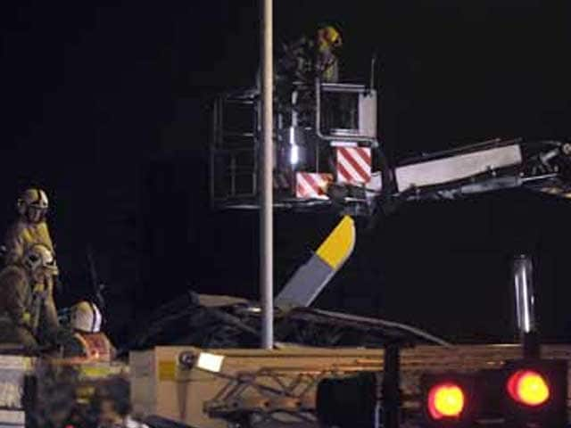 Video : Scottish police helicopter pub crash causes numerous casualties