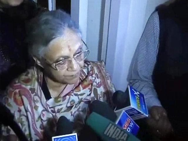 Video : 'Who says high turnout means anti-incumbency?' Sheila Dikshit to NDTV