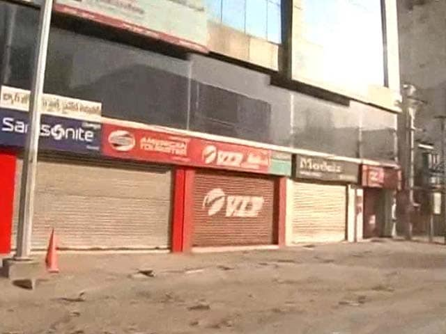 Video : Larger Telangana plan sparks protests, bandh halts parts of state