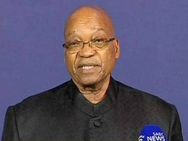 Video : Our nation has lost its greatest son: Zuma